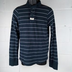Abercrombie & Fitch Muscle Long Sleeve Shirt Men M